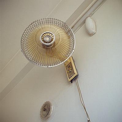 Air ventilator on the wall - p1269m1120320 by Sari Poijärvi
