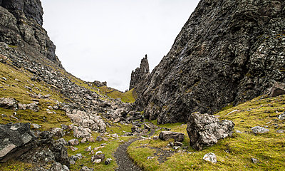 Old Man of Storr - p1234m1044597 by mathias janke