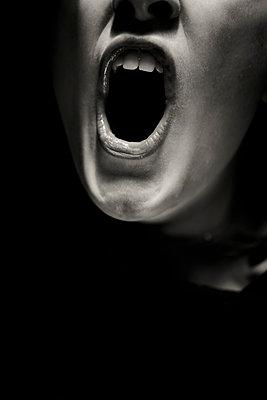 The scream - p1621m2291752 by Anke Doerschlen