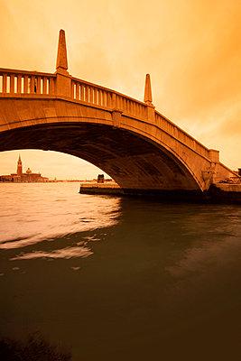 Brücke in Venedig - p3300212 von Harald Braun