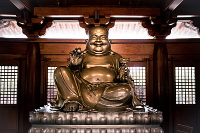 Statue of Buddha - p795m1161267 by JanJasperKlein