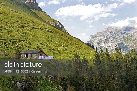 Berglandschaft im Berner Oberland - p1354m1216682 von Kaiser