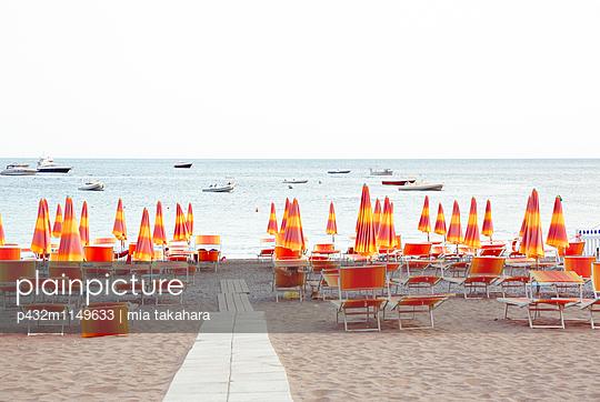 Strand in Positano - p432m1149633 von mia takahara