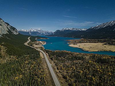 Abraham Lake in Kanada - p1455m1574485 von Ingmar Wein
