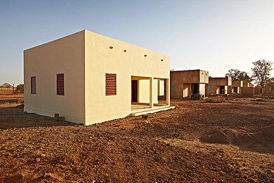 Buildings in Africa - p3900579 by Frank Herfort
