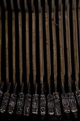 Alte Schreibmaschine - p4510942 von Anja Weber-Decker