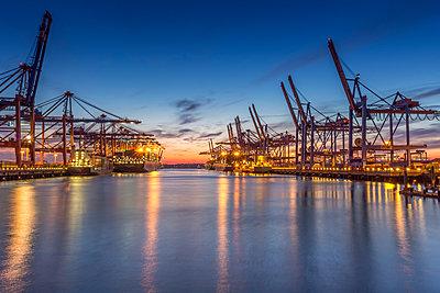 Container Terminal - p300m961841 by Stefan Kunert