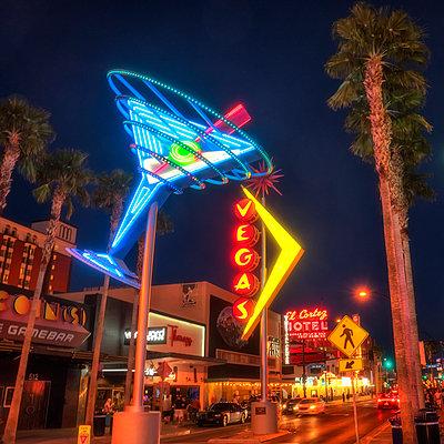 Las Vegas Classic Signs 1 - p1154m1138572 by Tom Hogan
