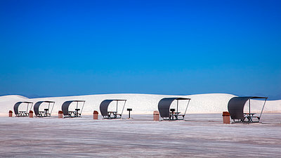 Rest areas in White Sands National Park - p1154m1217579 by Tom Hogan