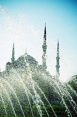Blaue Moschee in Istanbul - p5400078 von Claire Morgan