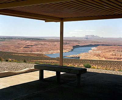Blick auf den Lake Powell - p1409m1466478 von margaret dearing