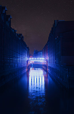 Blue Port Hamburg in der Speicherstadt - p1515m2053437 von Daniel K.B. Schmidt