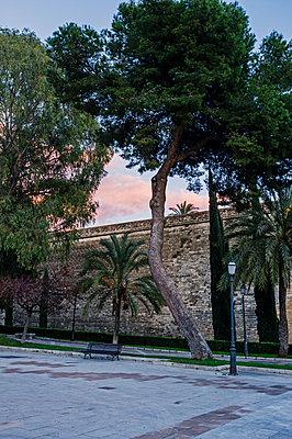 Stadtmauer in Palma de Mallorca - p177m1446128 von Kirsten Nijhof