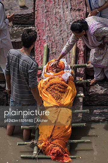Pashupatinath Tempel - p1243m1525160 von Archer
