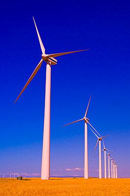 Wind Turbines, Alberta, Canada - p44210674f by Corey Hochachka