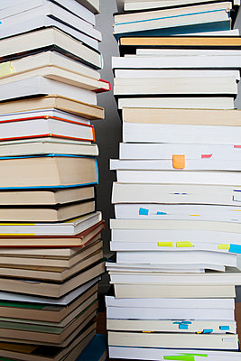 Stack of books - p801m2065349 by Robert Pola