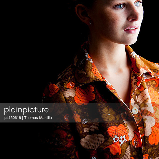 Seventies dress - p4130618 by Tuomas Marttila