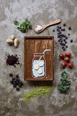 Fresh ingredients - p312m2120206 by Johner
