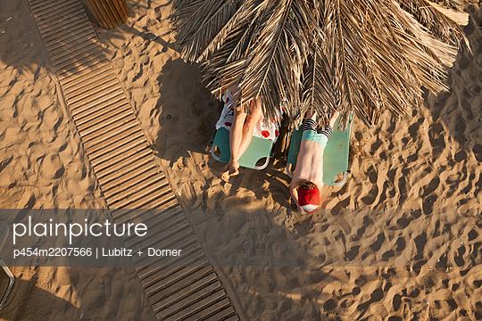 Strandurlaub - p454m2207566 von Lubitz + Dorner