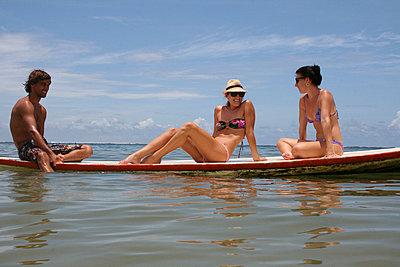 Freunde im Urlaub - p0452228 von Jasmin Sander