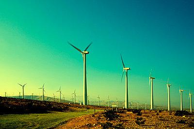 Windräder in Kalifornien;  USA - p3300311 von Harald Braun