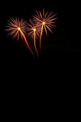 Fireworks - p470m830644 by Ingrid Michel
