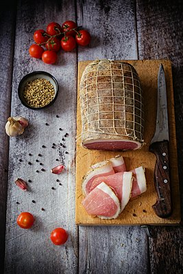 Pork loin - p1392m1441557 by Federica Di Marcello