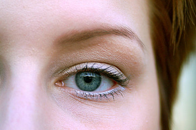 Eye, close-up - p3721656 by Patrick Mooney