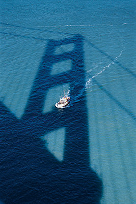 Shadow of the Golden Gate Bridge - p1032m770029 by Fuercho