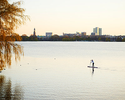 Outer Alster Lake - p1124m1011374 by Willing-Holtz
