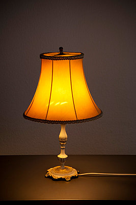 Old-fashioned lamp - p8240036 by jochen leisinger