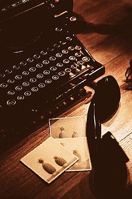 Arbeitsplatz eines Schriftstellers - p8290098 von Régis Domergue