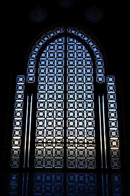 Innenansicht der Hassan II Moschee - p1189m1222549 von Adnan Arnaout