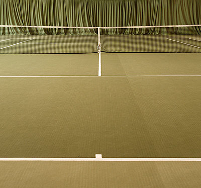 Grüner Tennisplatz - p2681219 von Rui Camilo