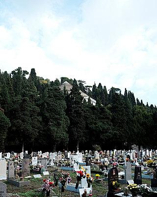 Monumentalfriedhof Staglieno - p1105m1222736 von Virginie Plauchut