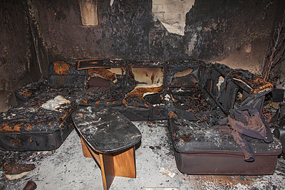 Wohnungsbrand - p060m1034671 von Dieter John