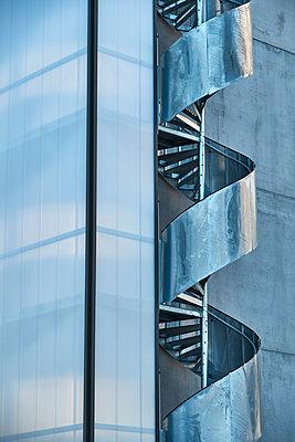 Modern winding stairwell - p312m1470800 by Johan Alp