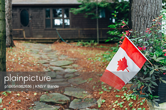 Canadian flag - p1065m982636 by KNSY Bande