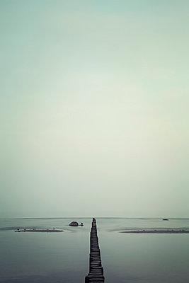 Buhne an der Ostsee - p992m1016118 von Carmen Spitznagel