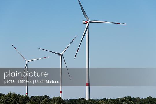 Windpark Hollich-Sellen - p1079m1552944 von Ulrich Mertens