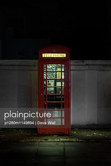 Telefonzelle - p1280m1149894 von Dave Wall