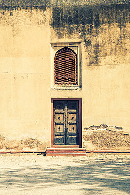 Door and window in Lahore Fort  - p794m1035076 by Mohamad Itani
