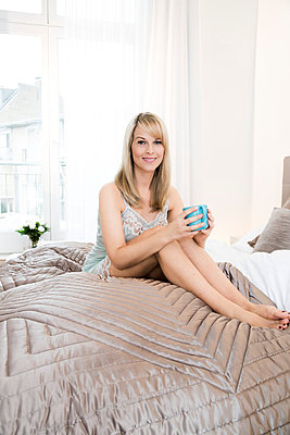 Morgens - p904m791954 von Stefanie Päffgen