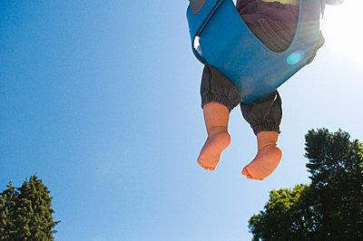 Babyschaukel - p5410170 von Sylvia Serrado