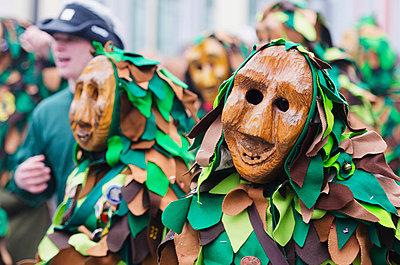 Fasnact spring carnival parade, Weil am Rhein - p871m819477 by Christian Kober