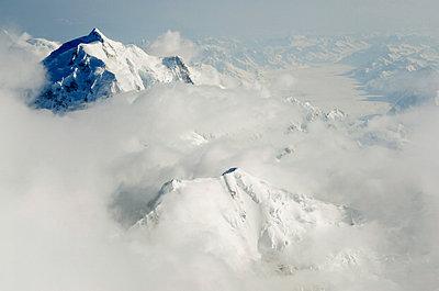 Mount Hunter, Denali National Park, Alaska, United States of America, North America - p871m805571 by Christian Kober