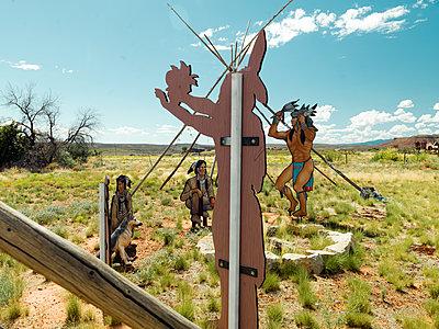 Zion National Park, Anasazi Memorial - p1542m2142327 by Roger Grasas