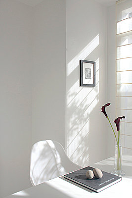 Table Setting Near Window In House  - p307m660246f by AFLO