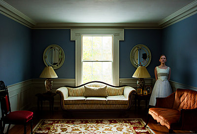 Blue Room - p1693m2294572 by Fran Forman