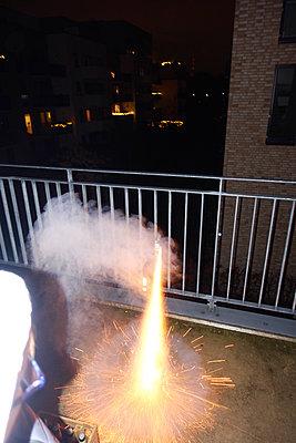 Feuerwerk - p851m2077244 von Lohfink